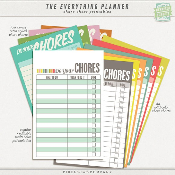 the everything planner  u2013 updated for 2014